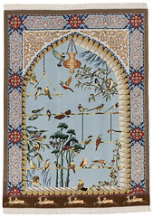 Tabriz Persian Carpet (CarpetU2) Tags: homedecor interiordesign home art antique excellent photo artwork carpets rugs wall colors blue gold