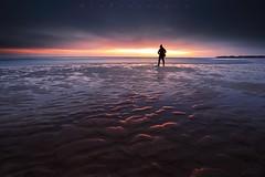 Beach Explorer (Stu Patterson) Tags: stu patterson sunrise seascape selfie