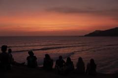 aurinkoaa (jasperanttila) Tags: pink sunset bali indonesia sun
