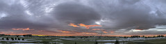 The Impossible Fire Sky (Northern_Nights) Tags: sunrise firesky lenticular clouds overcast cheyenne wyoming pano panorama