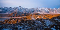 A Band of Light (Kurt Lawson) Tags: alabama area band foothills fresh hills light lonepine mount mountains national nevada peak recreation rocks scenic sierra snow sunrise whitney