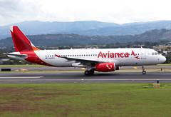 N499TA Avianca A320 (twomphotos) Tags: plane spotting mroc sjo rwy07 landing departing avianca airbus a320