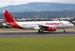 N491TA Avianca A320 (twomphotos) Tags: plane spotting mroc sjo rwy07 landing departing avianca airbus a320