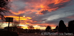 December 11, 2019 - A stunner of a sunset in Pueblo. (@Marilyn0683 via Twitter)