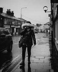 Winter Hey Lane (IWCharters) Tags: street mono bolton horwich rain england lancashire