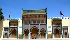 Palais royal  de  Fès depuis la place des Alaouites (philippedaniele) Tags: maroc fèes palaisroyal