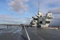 HMS Prince of Wales (stephenevans99) Tags: royalnavy hms prince wales aircraft carrier commissioning ceremony