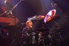 The CHRIS SLADE TIMELINE (from AC/DC) (Philippe Haumesser (+ 9000 000 view)) Tags: musician acdc musicians concert drum live stage band bands drummer concerts rockband groupe batterie musicien musiciens 2019 rockbands batteur scène groupes sonyilce6000 thechrissladetimeline