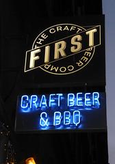 First Craft Bar, Budapest. (piktaker) Tags: hungary budapest pub inn bar tavern pubsign innsign publichouse firstcraftbar