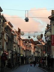 DSCN0150 (kaylovesvintage) Tags: december wintertime winter leiden city sunrise wintermorning sky pinksky netherlands