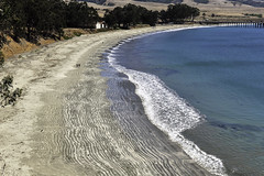 San Simeon Beach (Joe Josephs: 3,166,284 views - thank you) Tags: california travel travelphotography westcoast beach sansimonbeach sand landscapephotography pacificcoast waves surf pacificocean