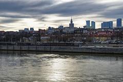 Warsaw, my place (margycrane) Tags: warsaw vistula wisła wislariver river landscape citylandspace capital poland clouds sonyilce7m3 fe1635mmf28gm