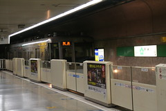 Fukuoka City Subway/Japan (motohakone) Tags: japan train metro rail ubahn kyushu schiene