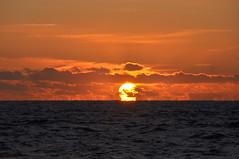The risen sun (Kirkleyjohn) Tags: sunrise lowestoft northsea morning sea seascape clouds