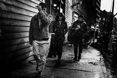 DSCF8294 (yann CM B) Tags: blackandwhite oslo fujixt30 35mm 50mm people night winter norway streetphotography