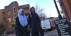 Manchester (1379) (benmet47) Tags: street city urban woman man candid