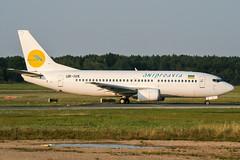 UR-IVK (PlanePixNase) Tags: aircraft airport planespotting haj eddv hannover langenhagen dniproavia boeing 737 737300 b733 733