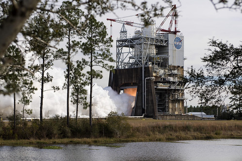 #TBT: 1st Hot Fire Test of RS-25 with Large 3D Printed Part – Dec. 13, 2017