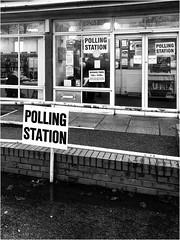 Day 346 Cast your vote (Dominic@Caterham) Tags: pollongstation election mono rain
