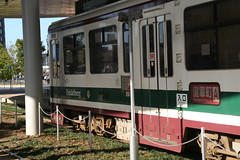 IMG_0262 (motohakone) Tags: japan local tram rail strasenbahn schiene kyushu