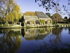 The Priory Wareham (Sean Harkin) Tags: wareham dorset river riverfrome boat house boathouse reflection reflections thepriory scenic olympus em10mkii mzuikodigital 1442mm13556iir