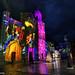 la cattedrale di Lucera pronta per il Natale.