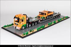 "Scania T142E ""Van der Vlist"" (legotrucks) Tags: scania t142 t142e vandervlist nooteboom lego legotrucks dennisbosman ingmarspijkhoven"