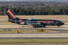 19-8969 (George Hamlin) Tags: virginia chantilly washington dulles international airport iad n36272 united airlines boeing 737800 aircraft airliner airplane narrowbody single aisle taxiway trees sky star wars promotion rise skywalker advertising photodecor george hamlin photography