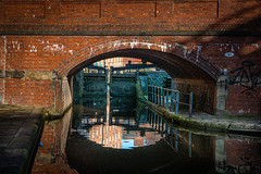 L1010453 (Boystead) Tags: rochdale canal reflections water