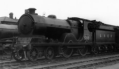 syks - lner 5110 doncaster shed (johnmightycat1) Tags: railway yorkshire mpd doncaster lner gcr
