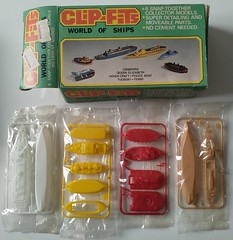 Clip-Fits - World of Ships - Kit (kiwigame) Tags: rl cereal toy kit nz