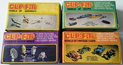 Clip-Fits - Snap-Together Model Kits (kiwigame) Tags: rl cereal toy kit nz