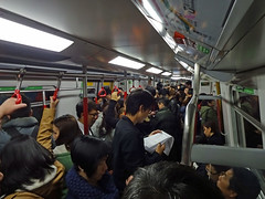 Inside a subway train Hong Kong (motohakone) Tags: hongkong asia rail schienen 2014 metro ubahn
