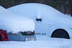 Icedrift! (petergranström) Tags: approved audi tt car bil sportscar sportbil sno snö