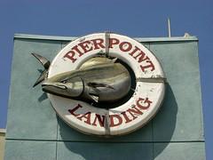Pierpoint Landing sign (ruru_productions) Tags: pierpoint landing sign pierpointlanding fishing pier longbeach fish