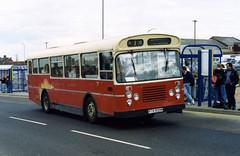 syks - lamberts rtb809m dinnington 12-9-1992 (johnmightycat1) Tags: bus independent yorkshire
