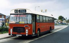 syks - lamberts krp214l dinnington 12-9-1992 (johnmightycat1) Tags: bus independent yorkshire