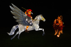Bellerophon And Chimera (Frostie2006) Tags: longleat festival light festivaloflight wiltshire bath nikon d500 nikond500 peter frost peterfrost christmas
