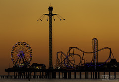 Oh, fun times (Dave Arnold Photo) Tags: tx tex texas davearnold davearnoldphotocom pleasure pier carnival island 1900 hurricane galveston county picture photo photography photograph photographer travel ferriswheel water american idyllic sky rollercoaster gulfofmexico awesome canon 5d mkiii us usa landscape beach ride serene peaceful huge fantastic 100400mm professional night outdoor nature southern south reflection atlantic ocean historic architecture sunset longexposure le disaster amusementpark