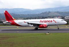 N493TA Avianca A320 (twomphotos) Tags: plane spotting mroc sjo rwy07 landing departing avianca airbus a320