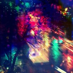 those rainy ny nights (Manhattan Girl) Tags: shellykayphotography artforsale nyc manhattan multiexposure rainy night photography urban citylife lights