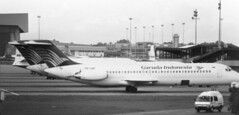 PK-GNF (Garuda Indonesia) DC-9-32 at CGK 131188 (kitmasterbloke) Tags: jakarta cgk sukarnohatta propliner indonesia 1988 airliner classic