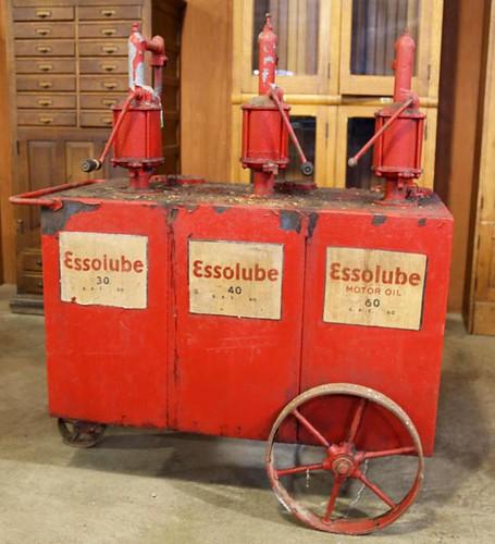 Esso Lube Cart ($291.20)