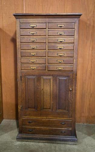 Oak Store File Cabinet ($1,344.00)