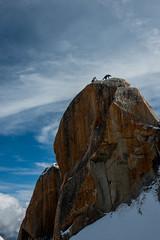 ils sont arrivés au sommet (musette thierry) Tags: laiguilledumidi hautesavoie france musette thierry d800 nikon nikkor 28300mm neige été montblanc montage