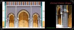 On s'approche  du Palais Royal (philippedaniele) Tags: maroc fèes palaisroyal fabuleuse