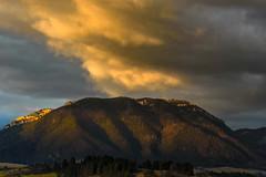 Sunset in Liptov, Slovakia (kasinco) Tags: slovakia sunset landscape liptov light clouds hill nikon 7200