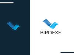 Birdexe (shawonbd71) Tags: bird birdlogo blue business companylogo flying flyingbird modern professionallogo uniqelogo