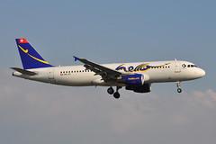 HB-JIY Airbus A320-214 EGPH 03-06-11 (MarkP51) Tags: hbjiy airbus a320214 a320 hello hw fhe edinburgh airport edi egph scotland airliner aircraft airplane plane image markp51 sunshine sunny nikon d5000