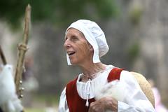 Elder medievalist (dreamswanderer) Tags: portrait candid woman